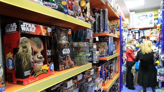 Star Wars lidera las ventas de productos entre las grandes sagas