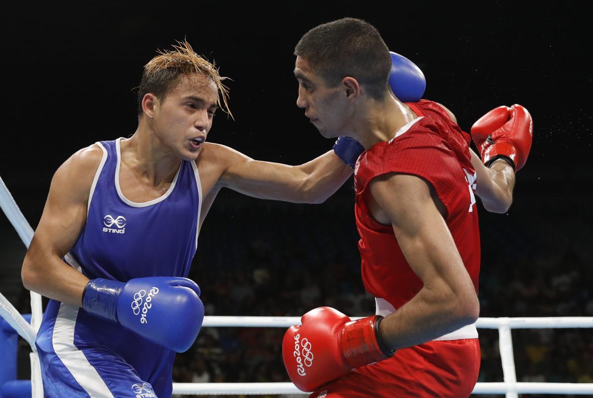 Muhammad Ali, eliminado en boxeo