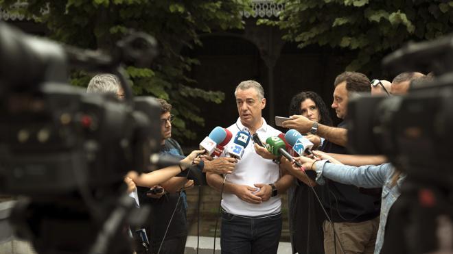 Urkullu responde a Otegi que no ha visto a la candidatura de EH Bildu renunciar «en su conjunto»