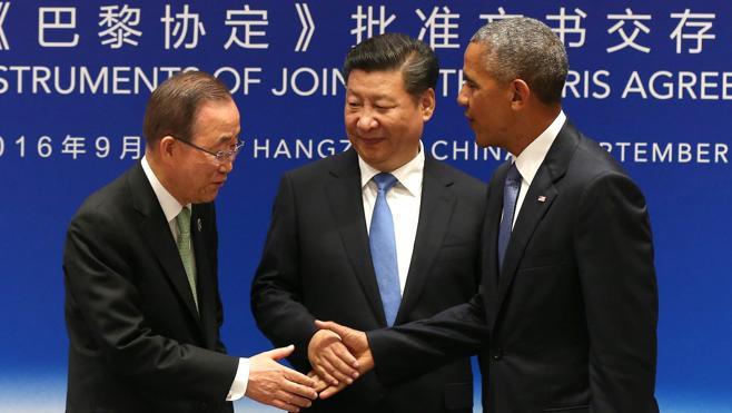 El G-20 arranca con el pacto climático de EE UU y China
