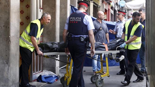 Mueren apuñalados dos hombres tras una pelea en Barcelona