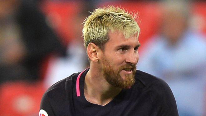 Messi sigue con molestias en el aductor izquierdo