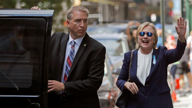 La salud de Hillary Clinton lastra su campaña
