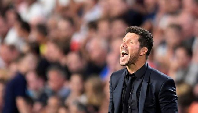 Simeone: «Aún hay mucho que mejorar»