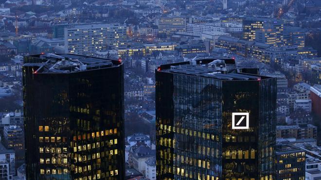 EE UU pide multar a Deutsche Bank con 14.000 millones de dólares
