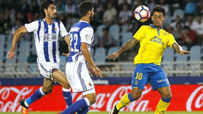 Willian José, clave con dos goles en primer triunfo de la Real