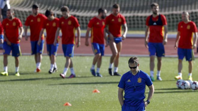 Gran prueba para la nueva España de Lopetegui
