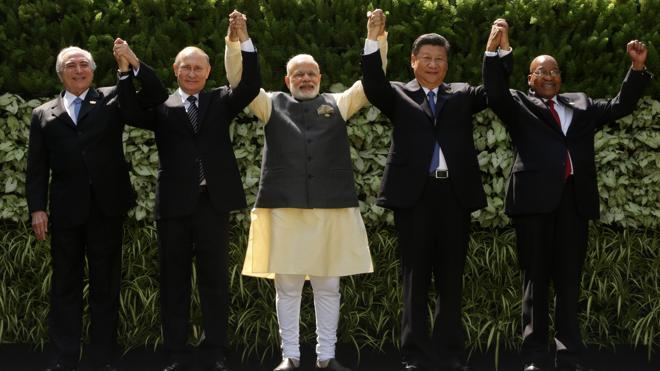 Los países del BRICS apuestan por erigirse en motor global en una cumbre marcada por terrorismo