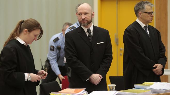 Noruega justifica el régimen carcelario aplicado al «peligroso» Breivik