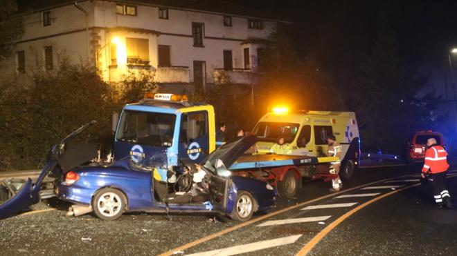 Tres muertos en las carreteras españolas durante el fin de semana
