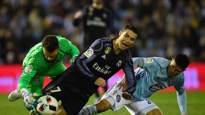 El Celta despierta al Madrid del sueño del triplete