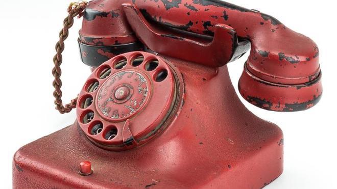 Subastan en Estados Unidos el teléfono de Hitler en el búnker de Berlín