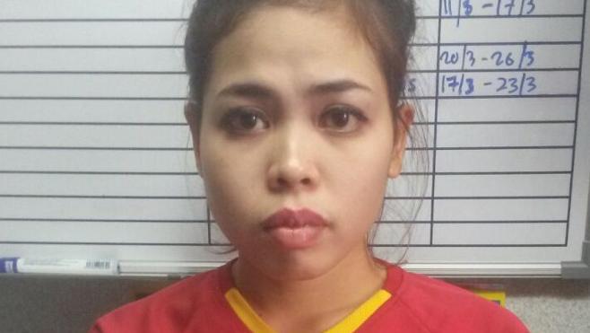 Una detenida por matar a Kim Jong-nam insiste en que fue contratada para una «broma»