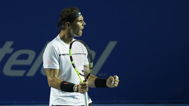 Nadal y Djokovic desatan euforia en Acapulco