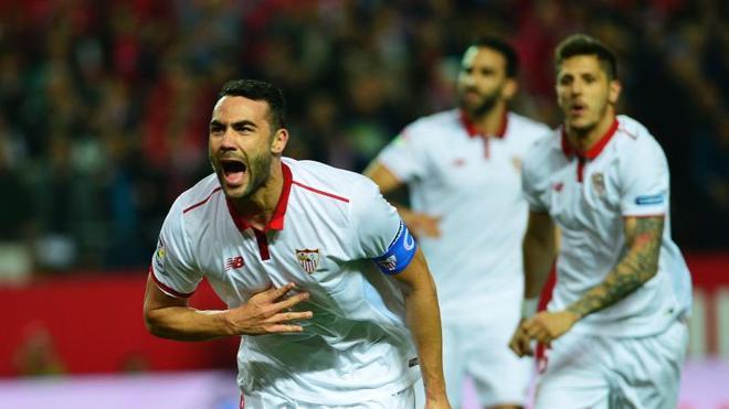 Iborra lanza al Sevilla a por la Liga