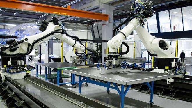Los robots dan paso a un mercado laboral 4.0