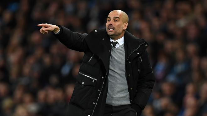 Guardiola, mejor entrenador del mes de febrero en la Premier