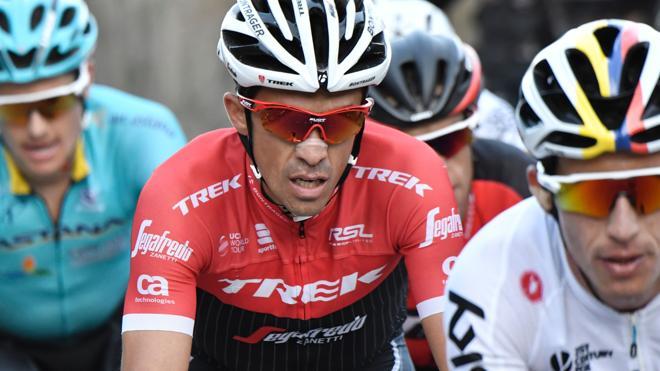 La progresión de Contador no le vale para asaltar la segunda plaza en la general