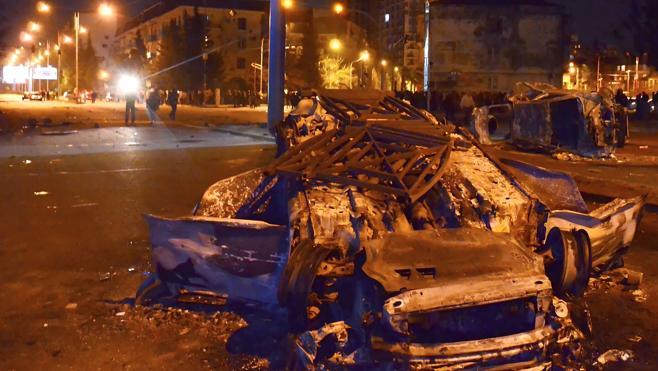 Una multa de tráfico provoca decenas de heridos y detenidos en Georgia