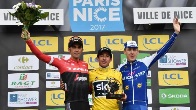 Contador se queda sin la París-Niza por sólo dos segundos