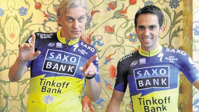 Tinkov: «Contador es un trozo de mierda española»