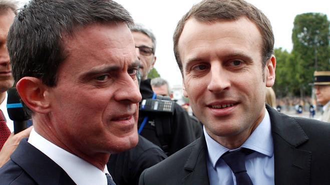 Valls anuncia que votará a Macron en las presidenciales francesas