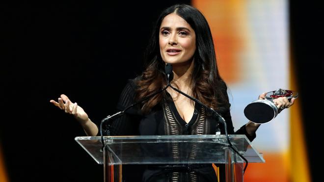Salma Hayek: «Si no es por mi cuerpo, no me hubieran dado una oportunidad»