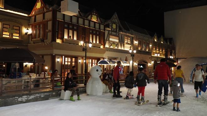 Snow Town, nieve vietnamita