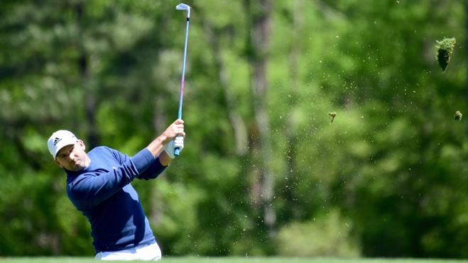 Sergio García comparte el liderato en Augusta