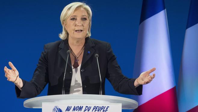 Le Pen critica el «viejo frente republicano» que llama a votar contra ella