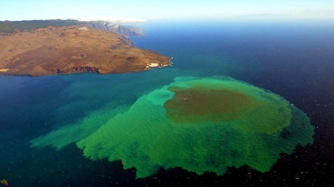 Descubren una nueva especie bacteriana tras la erupción de un volcán canario