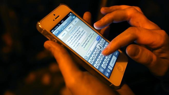 Pillados por el móvil