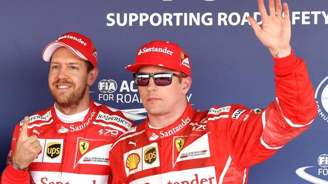 Ferrari logra un doblete de otra época