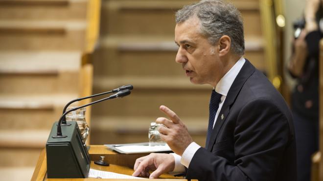 Urkullu dice que tras el desarme de ETA hay que «recuperar la normalidad» penitenciaria