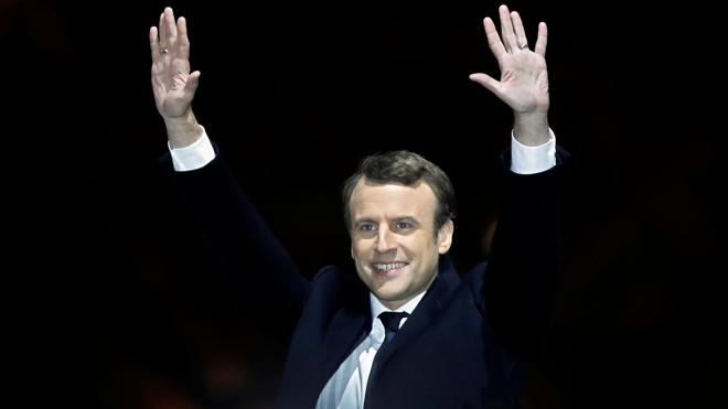 Francia elige a Macron, el presidente del optimismo