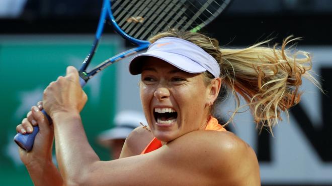 Roland Garros rechaza invitar a Sharapova