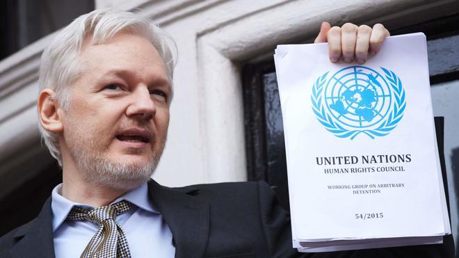 Suecia abandona la investigación por violación contra Julian Assange