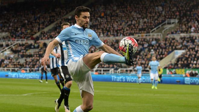 Jesus Navas abandona el Manchester City