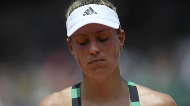Kerber cae en primera ronda de Roland Garros