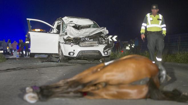 Siete fallecidos en las carreteras durante el fin de semana