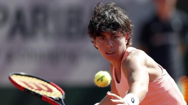 Carla Suárez también se despide de Roland Garros