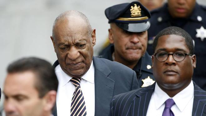 Lágrimas al comenzar el juicio de Bill Cosby