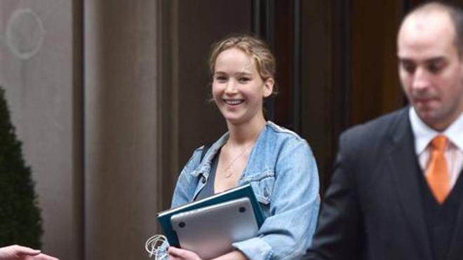 Así es Jennifer Lawrence sin una gota de maquillaje