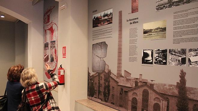 Alfaro brinda un museo a su historia