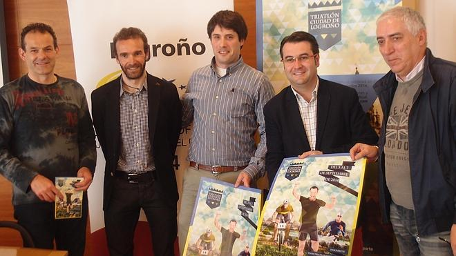 El Triatlón 'Ciudad de Logroño 2014' registra 200 inscritos en la primera semana