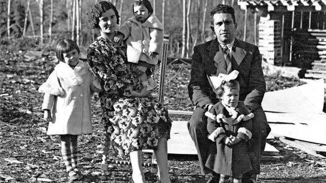 Retrato de familia antes de la Guerra