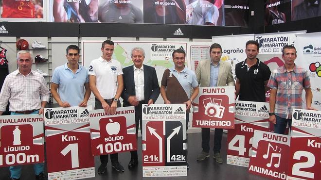 La Maratón y Media Maratón Internacional 'Ciudad de Logroño' cuenta con 1.500 inscritos