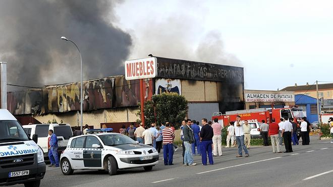 El dueño de Patatas Lahera no irá a prisión por la muerte de una trabajadora en el incendio de la empresa