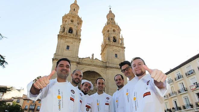 Embajadores de La Rioja en Gastronomika