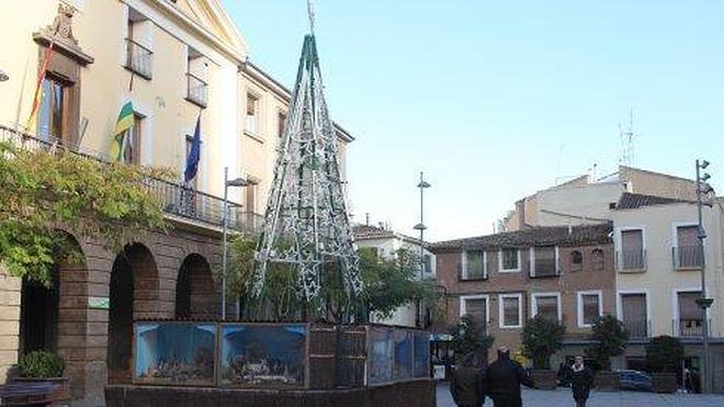 El encendido de las luces y las cazuelitas abren hoy el ambiente navideño de Alfaro